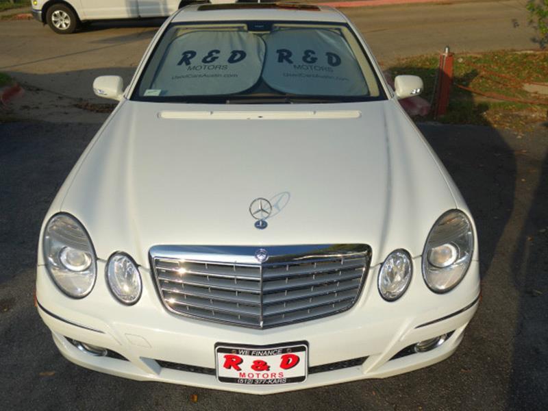 2008 Mercedes-Benz E-Class AWD E 350 4MATIC 4dr Sedan