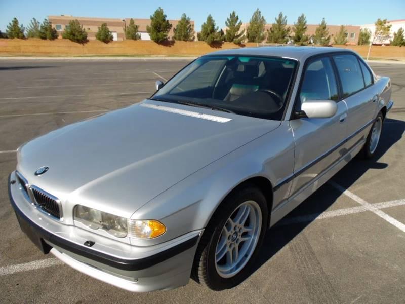 2001 BMW 7 Series 740iL 4dr Sedan