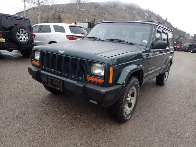 2000 Jeep Cherokee 4dr Sport 4WD SUV