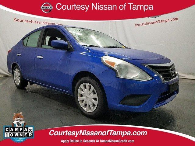 Certified 2016 Nissan Versa 1.6 Sedan in Jacksonville FL