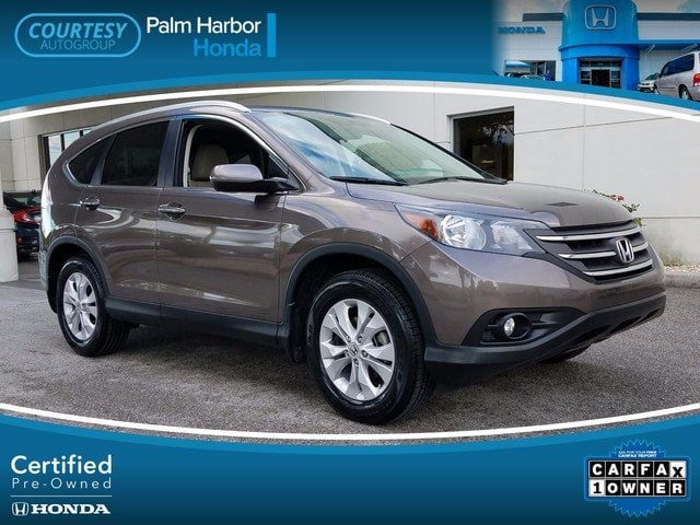 Certified 2014 Honda CR-V EX-L SUV in Jacksonville FL