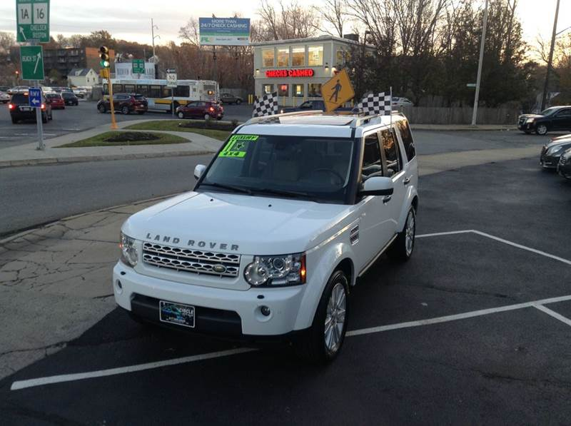 2012 Land Rover LR4 4x4 HSE 4dr SUV