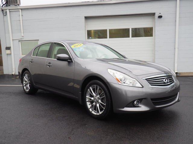 2012 INFINITI G37 SEDAN x Sedan
