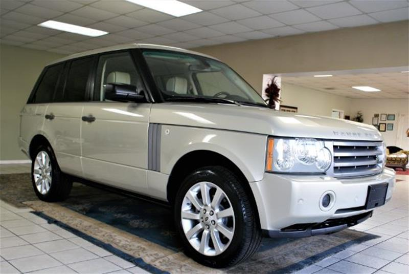 2009 Land Rover Range Rover 4x4 HSE 4dr SUV w/ Luxury Package
