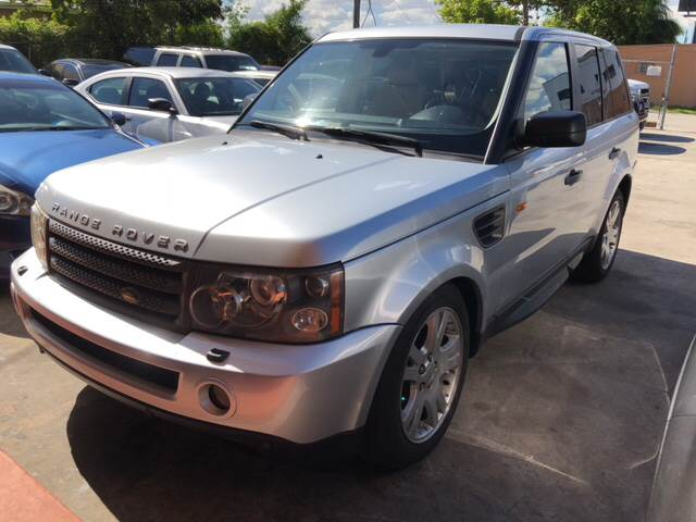 2006 Land Rover Range Rover Sport HSE 4dr SUV 4WD