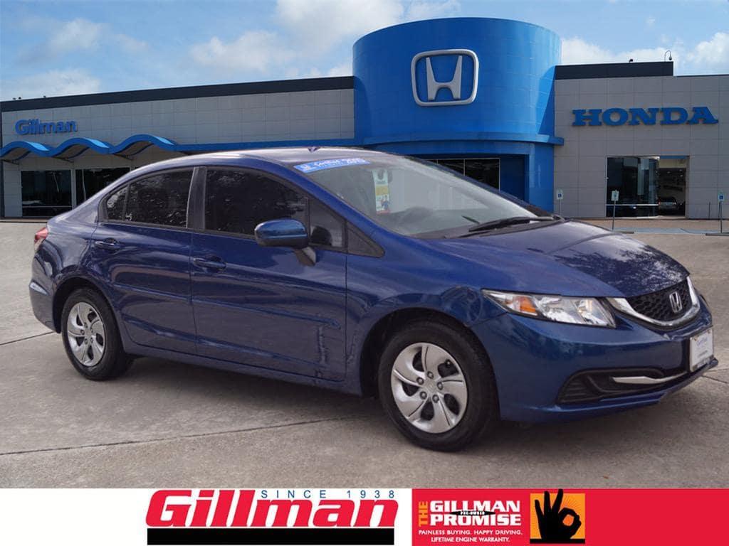 Certified Pre-Owned 2015 Honda Civic Sedan LX in Houston, TX