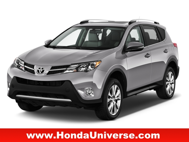 Pre-Owned 2015 Toyota RAV4 AWD 4dr Limited AWD