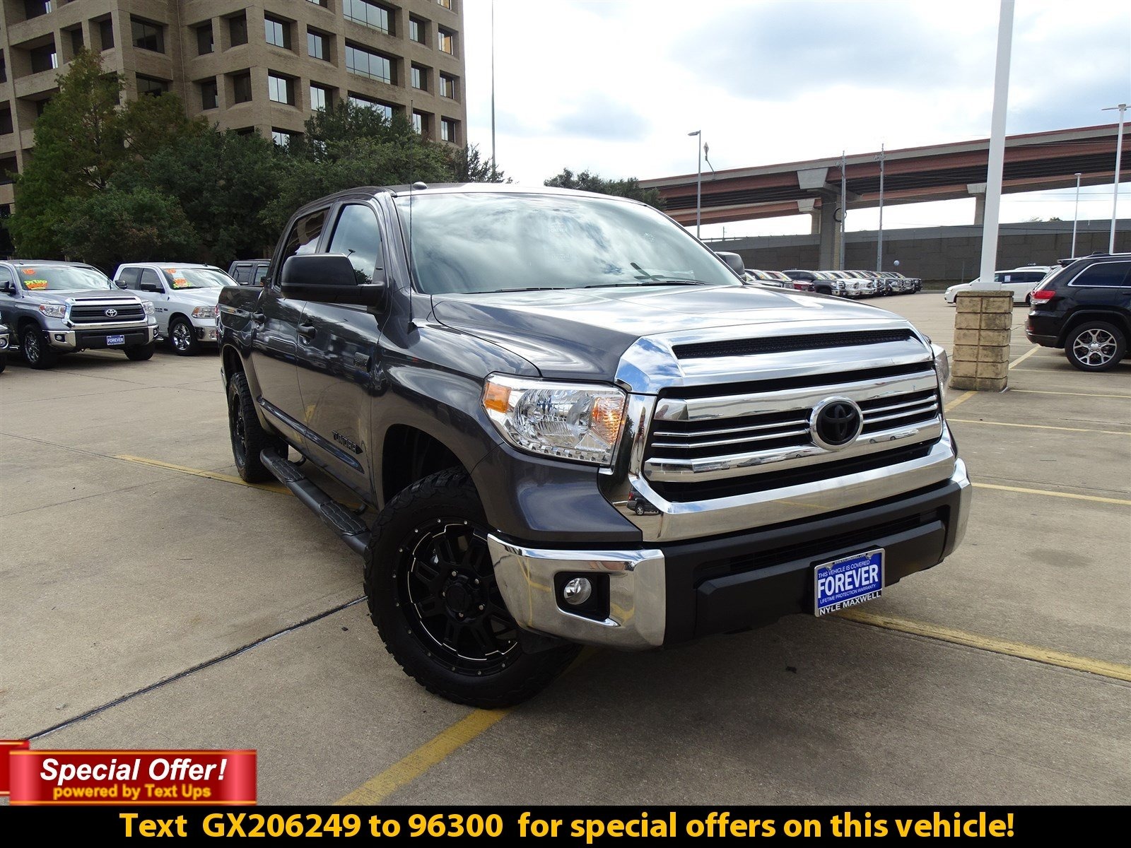 DEALER CERTIFIED PRE-OWNED 2016 TOYOTA TUNDRA 2WD TRUCK SR5 RWD CREW CAB PICKUP