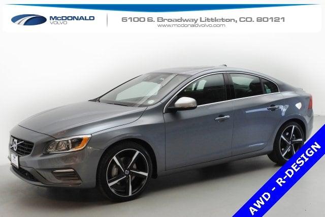 2016 Volvo S60 T6 Drive-E R-Design Platinum Sedan in Denver