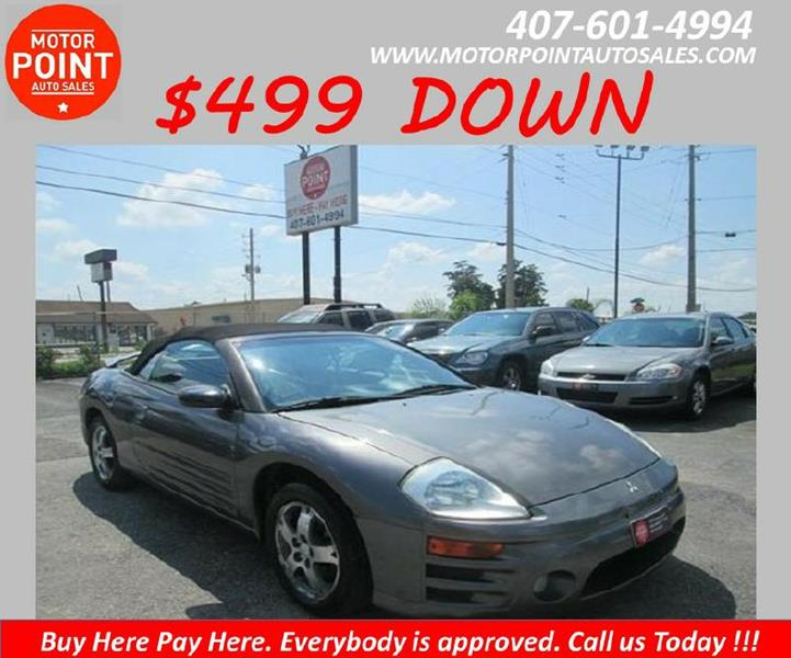 2004 Mitsubishi Eclipse Spyder GS 2dr Convertible