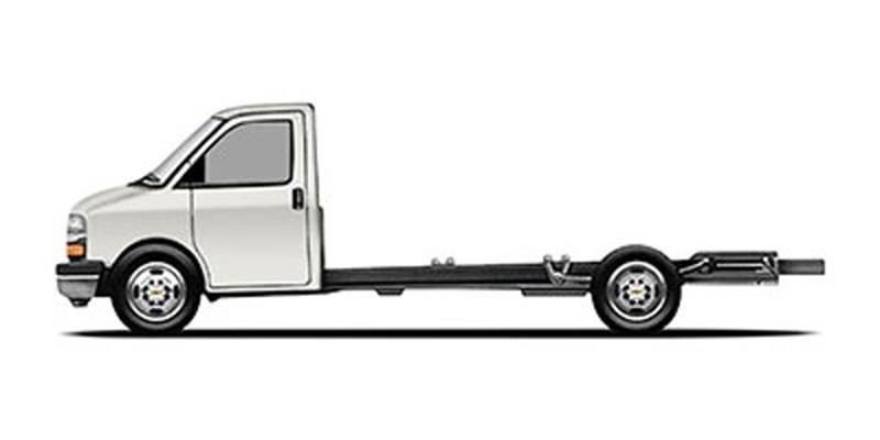 2017 Chevrolet Express Cutaway 3500 2dr 139 in. WB Cutaway Chassis