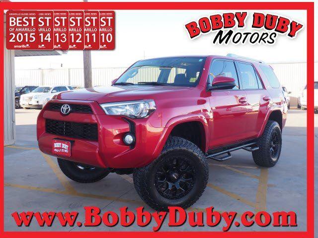 2016 Toyota 4Runner SR5 Premium - Toyota dealer in Amarillo TX – Used Toyota dealership serving Dumas Lubbock Plainview Pampa TX