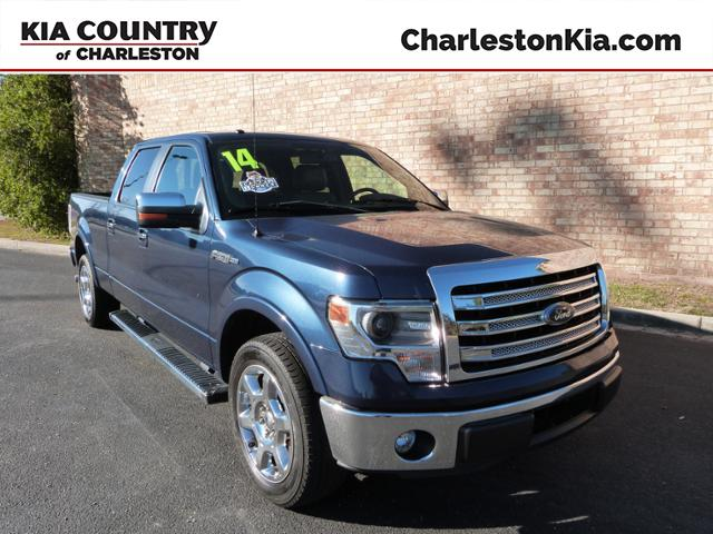 Pre-Owned 2014 Ford F-150 2WD SuperCrew 157 Lariat RWD Crew Cab Pickup