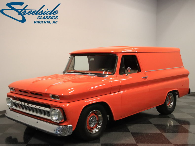 1966 Chevrolet Panel Delivery $27,995