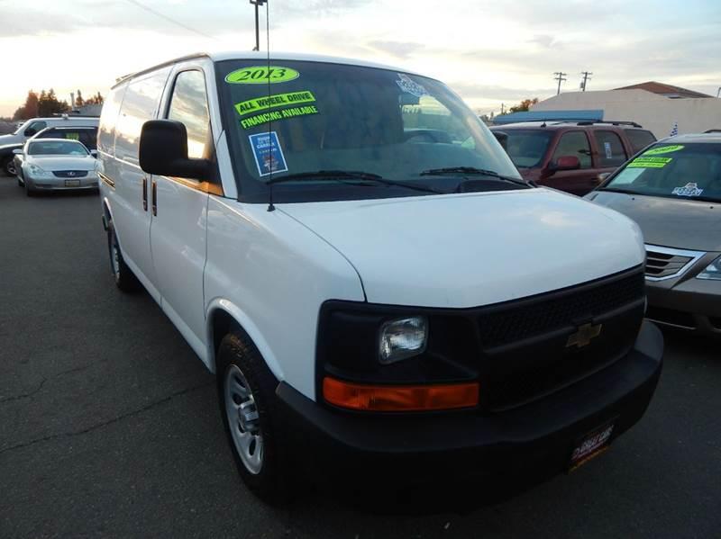 2013 Chevrolet Express Cargo AWD 1500 3dr Cargo Van