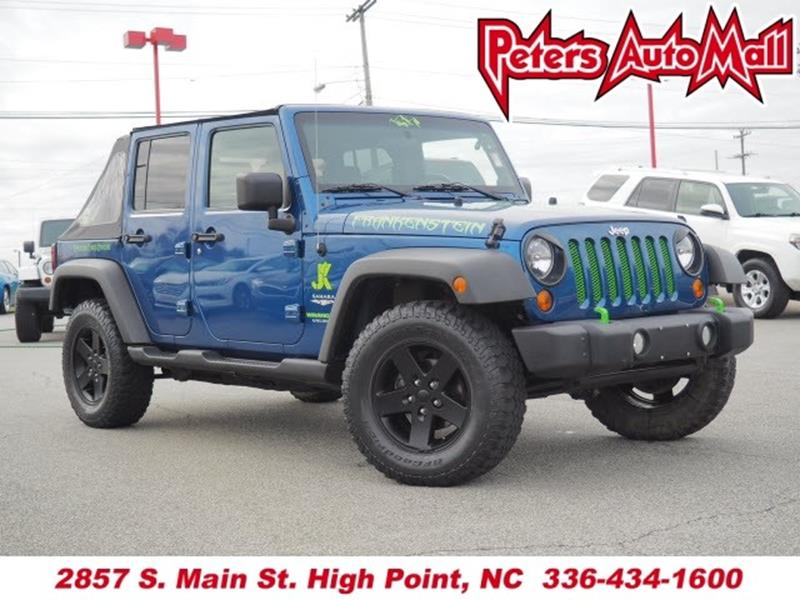 2010 Jeep Wrangler Unlimited 4x4 Sahara 4dr SUV