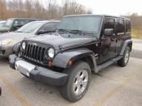 2013 Jeep Wrangler Unlimited Sahara 4x4 Sahara SUV near Cleveland