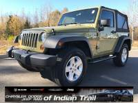 CERTIFIED PRE-OWNED 2013 JEEP WRANGLER SPORT 4WD