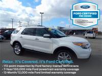 Certified Pre-Owned 2015 Ford Explorer Limited 4WD