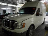 2012 Nissan NV Cargo 3500 HD SV 3dr Cargo Van w/ High Roof w/ Sliding Door Glass Package