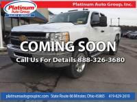 2013 Chevrolet Silverado 2500HD LT Truck Extended Cab