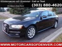 2015 Audi A4 2.0T Quattro Xenon Lights Warranty to 2018 Clean