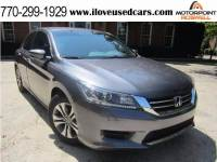 2014 Honda Accord LX 4dr Sedan 6M