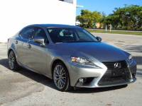2015 Lexus IS 250 Crafted Line 4dr Sedan