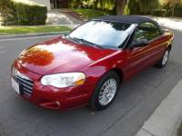 2004 Chrysler Sebring Touring Platinum Series 2dr Convertible