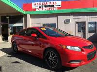 2012 Honda Civic LX 2dr Coupe 5A