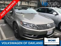 Certified Pre-Owned 2015 Volkswagen CC 2.0T Executive FWD 4D Sedan