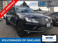 Certified Pre-Owned 2017 Volkswagen Touareg Wolfsburg V6 AWD