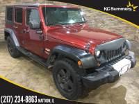 2008 Jeep Wrangler Unlimited Sahara SUV 1J4GA59158L551985