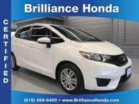 Certified Pre-Owned 2015 Honda Fit LX 4D Hatchback