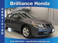 Certified Pre-Owned 2014 Honda Civic LX 4D Sedan