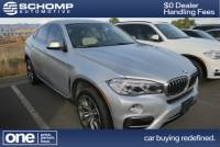 Certified Pre-Owned 2015 BMW X6 xDrive50i With Navigation & AWD