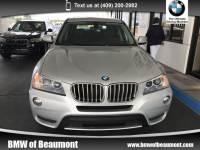 2014 BMW X3 Xdrive28i SAV All-wheel Drive in Beaumont, TX