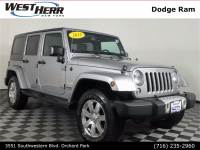 2015 Jeep Wrangler Unlimited Unlimited Sahara SUV