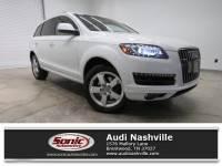 Certified Used 2014 Audi Q7 3.0T Premium Plus Quattro 4dr SUV quattro near Nashville, TN