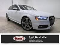 Certified Used 2014 Audi S4 Premium Plus 4dr Sdn S Tronic Sedan quattro near Nashville, TN