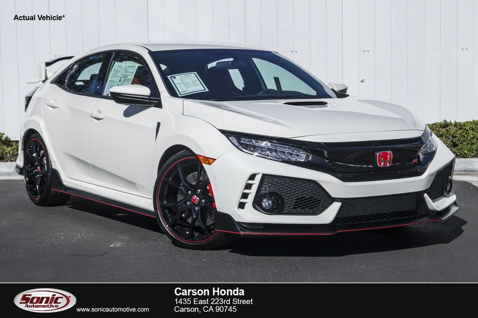 Photo 2017 Honda Civic Type R Touring Manual in Carson