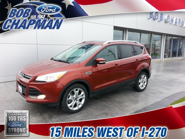 Pre-Owned 2015 Ford Escape Titanium FWD 4D Sport Utility