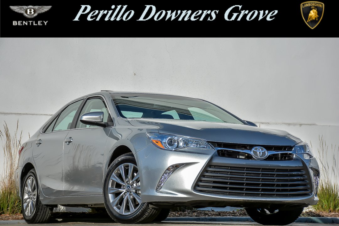 Pre-Owned 2017 Toyota Camry XLE With Navigation Front Wheel Drive 4dr Car