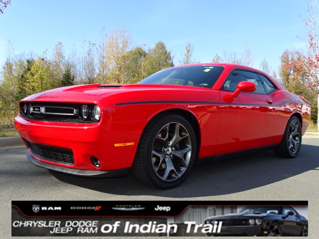 CERTIFIED PRE-OWNED 2015 DODGE CHALLENGER SXT RWD 2D COUPE