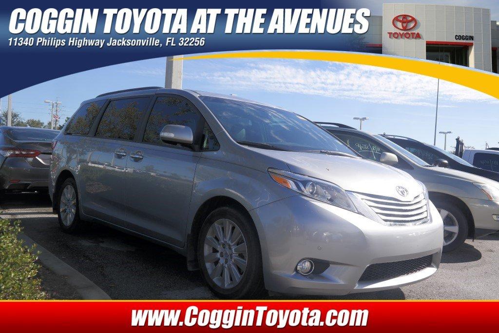 Pre-Owned 2015 Toyota Sienna Limited Premium Van Front-wheel Drive in Jacksonville FL