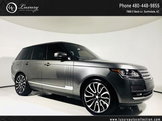 2016 Land Rover Range Rover HSE   Autobiography Wheels   Surround Camera's   Pano Roof   17 15 With Navigation