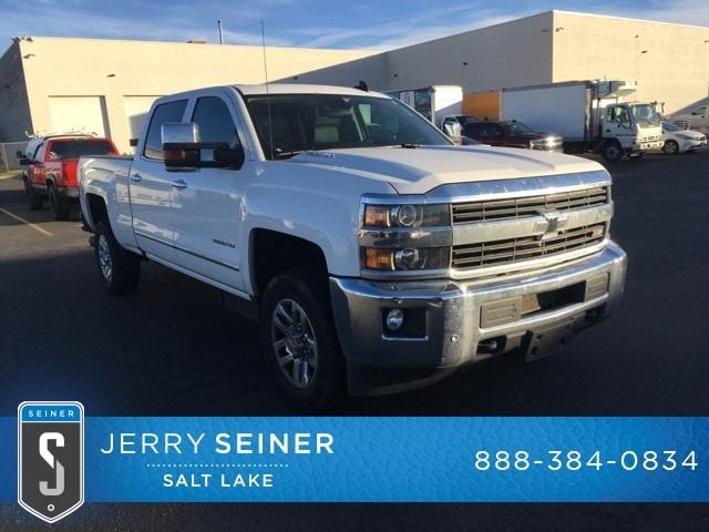 Certified Used 2016 Chevrolet Silverado 3500HD LTZ Truck Crew Cab in Salt Lake City, UT