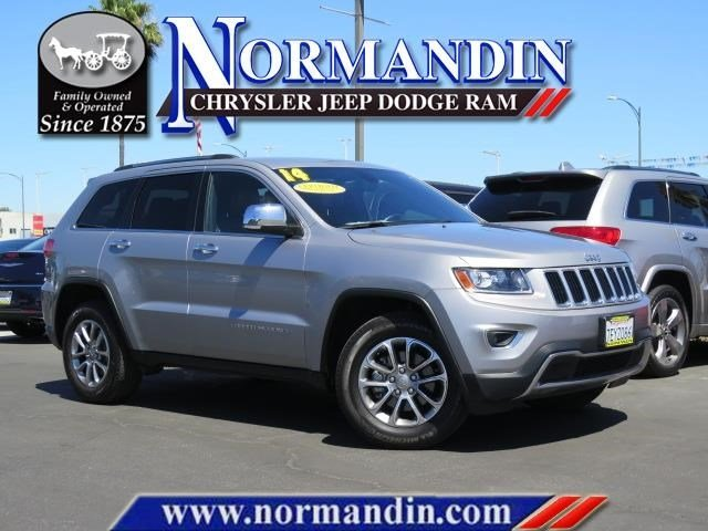 Photo PRE-OWNED 2014 JEEP GRAND CHEROKEE LIMITED 4WD