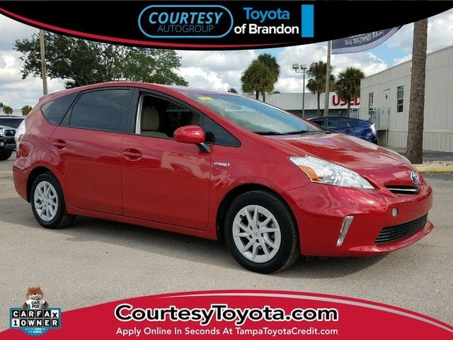 Pre-Owned 2014 Toyota Prius v Two Wagon near Tampa FL