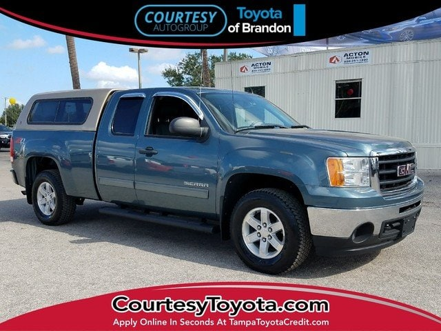 Photo Pre-Owned 2011 GMC Sierra 1500 SLE Truck Extended Cab near Tampa FL